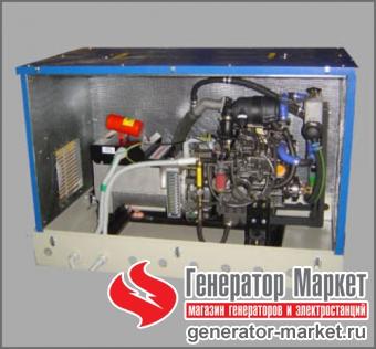 Судовой дизельный генератор ВЕПРЬ АДА10-230ТА