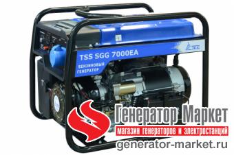 Дизельный генератор TSS SDG7000EH3