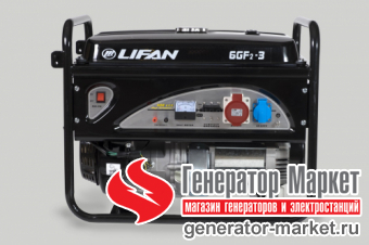 Бензогенератор LIFAN 6GF2-3