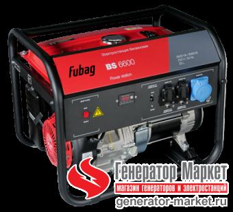 Бензогенератор FUBAG BS6600