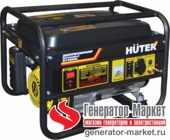 Бензогенератор Hüter DY4000L