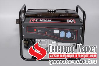 Бензогенератор LIFAN 6GF-3