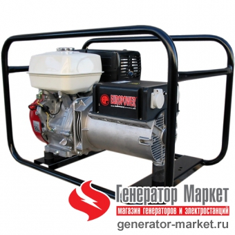 Бензогенератор Europower EP6500T 3X230V для ж/д