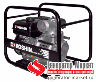 Бензиновая мотопомпа для среднезагрязненной воды KOSHIN STV-80X