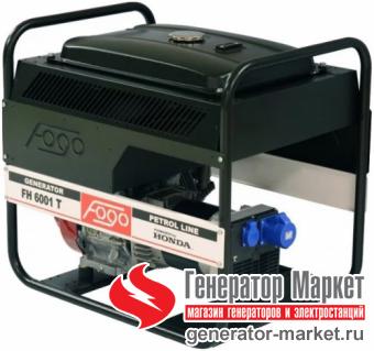 Бензогенератор FOGO FH6001T