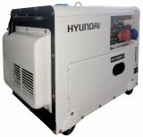 Дизельный генератор Hyundai DHY8500SE-T