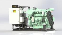 Судовой дизельный генератор ВЕПРЬ АДС 200-Т400 ТК