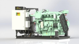 Судовой дизельный генератор ВЕПРЬ АДС 420-Т400 ТК
