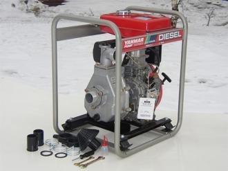 Дизельная мотопомпа для чистой воды YANMAR YDP 20N