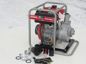 Дизельная мотопомпа для грязной воды YANMAR YDP 20STN