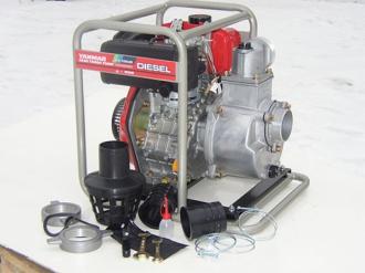 Дизельная мотопомпа для грязной воды YANMAR YDP 30STN