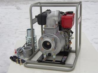 Дизельная мотопомпа для грязной воды YANMAR YDP 40STN