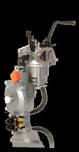 Газовое оборудование для бензогенератора