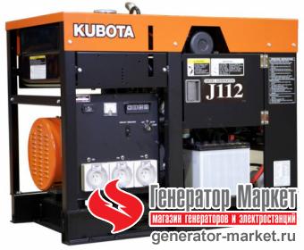 Дизель-генератор Kubota J112