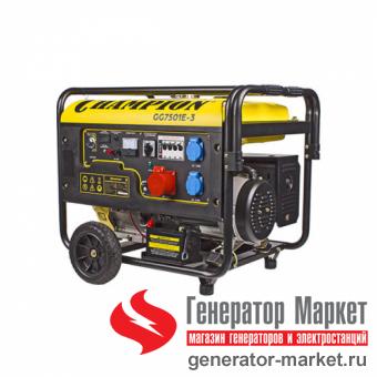 Бензогенератор Champion GG7501E-3