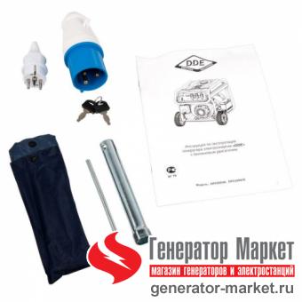 Бензогенератор DDE DPG10551E