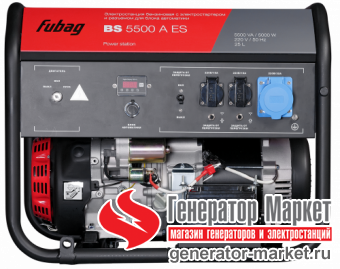 Бензогенератор Fubag BS5500AES