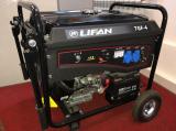 Бензогенератор Lifan 7GF-4 (LF7500E)